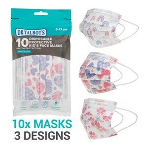 Dr. Talbots 10 Disposable Kid's Face Masks